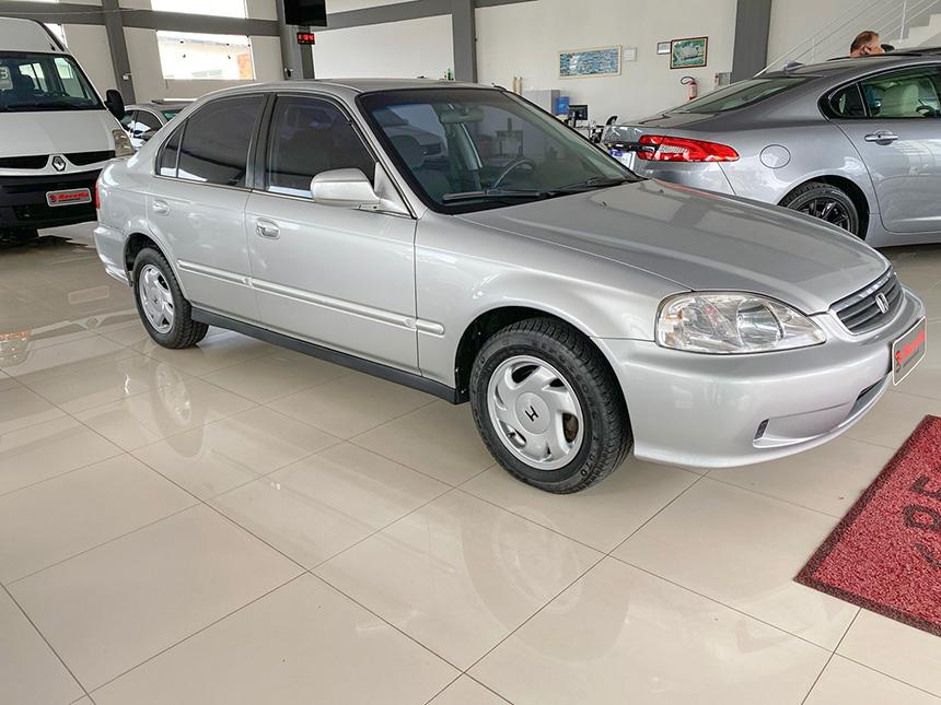 Automóvel Honda Civic Lx 2000