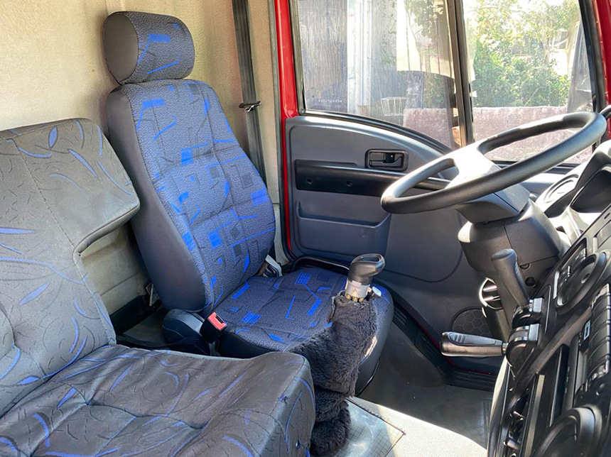 Caminhão ford cargo 1932 cnt 2012-7