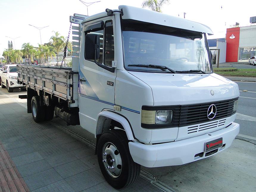 Caminhão mercedes benz 912 1991 em Criciúma