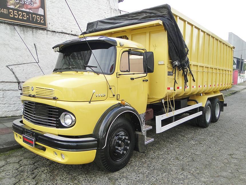 Caminhão mercedes benz l 1113 1972-2