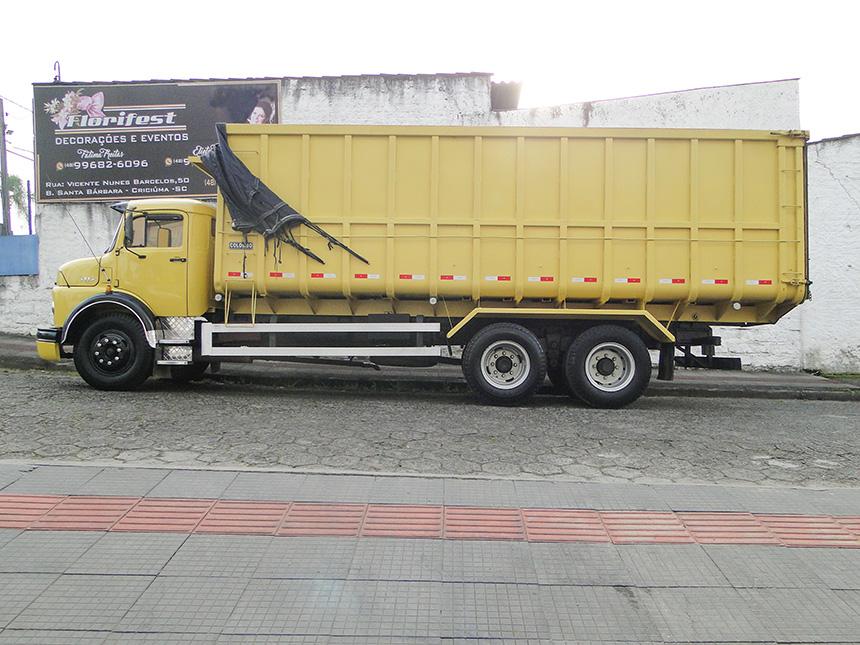 Caminhão mercedes benz l 1113 1972-3
