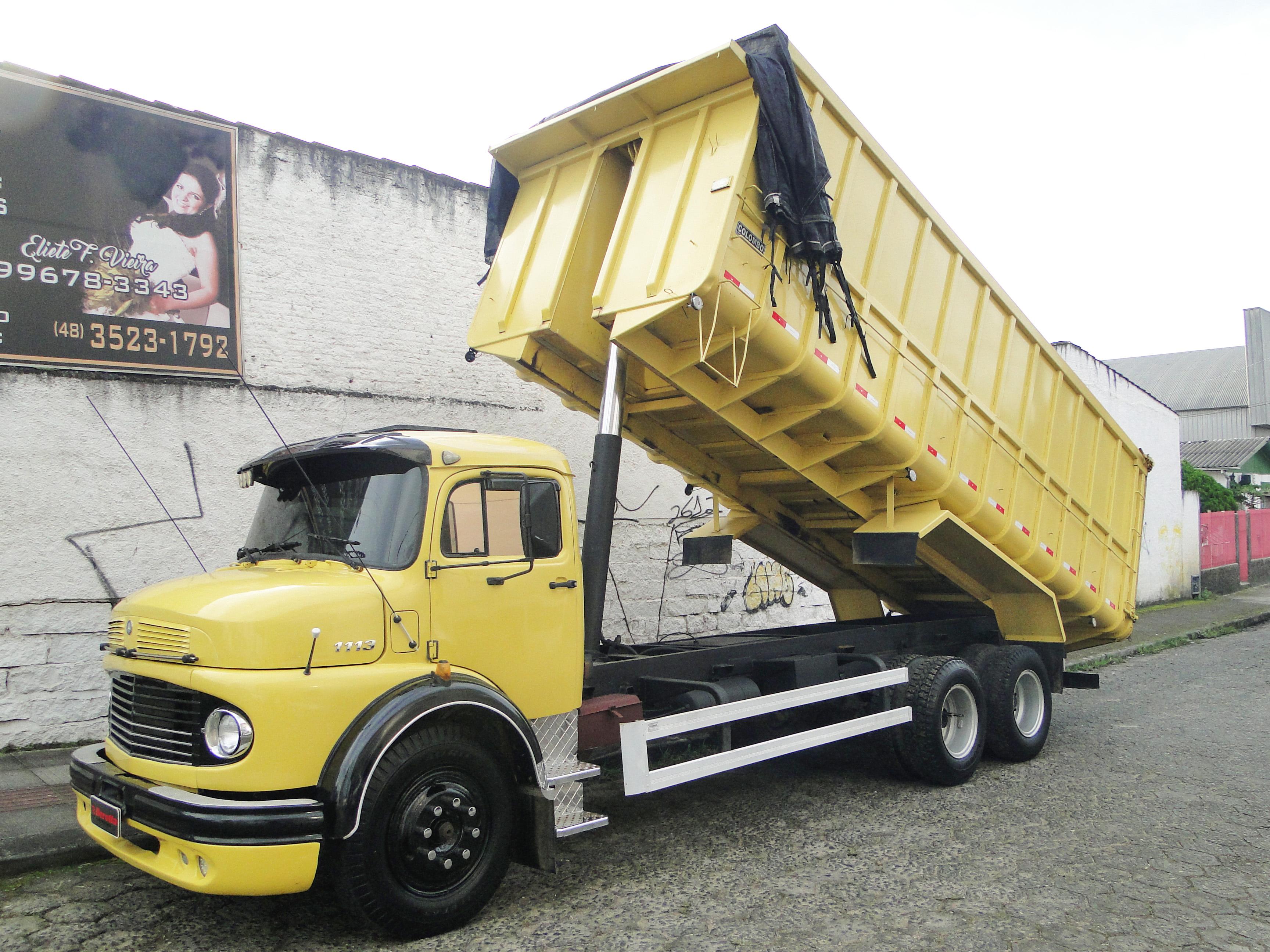 Caminhão mercedes benz l 1113 1972-7