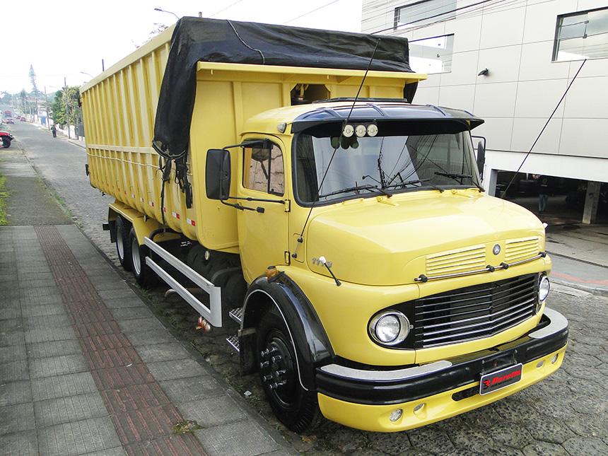 Caminhão mercedes benz l 1113 1972