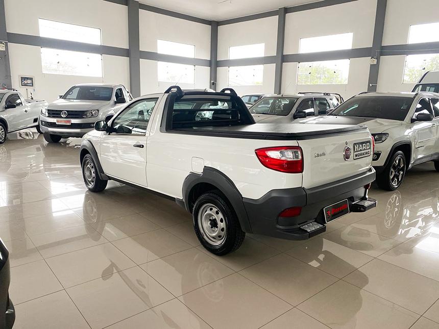 Camioneta fiat strada HD WK CC E 2020-4 na Beretta Automóveis em Criciúma