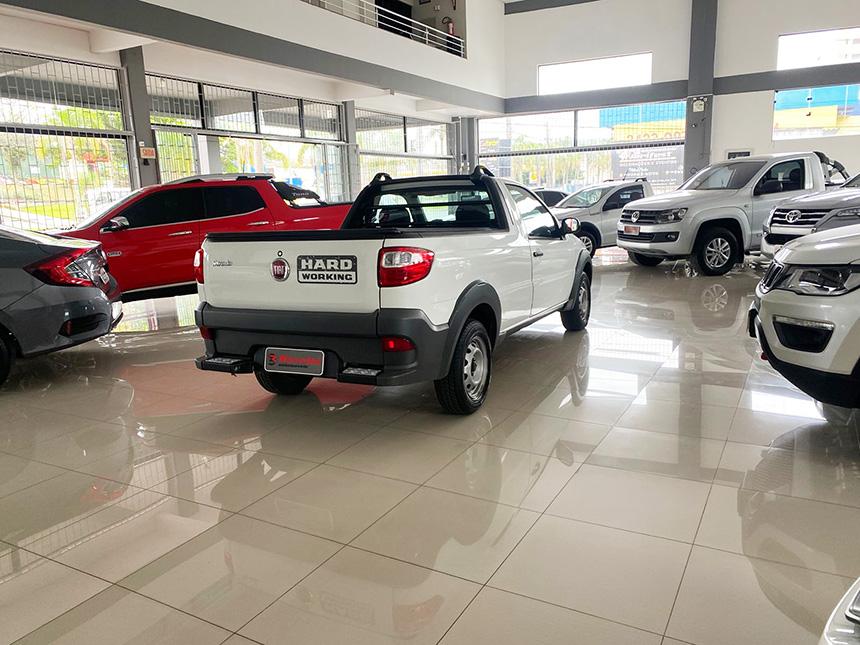 Camioneta fiat strada HD WK CC E 2020-6 na Beretta Automóveis em Criciúma
