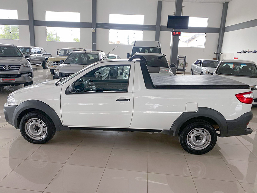 Camioneta fiat strada HD WK CC E 2020-7 na Beretta Automóveis em Criciúma