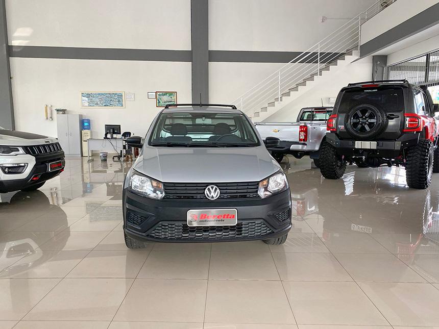 Camioneta Volkswagen Nova Saveiro 2017-1 na Beretta Automóveis em Criciúma