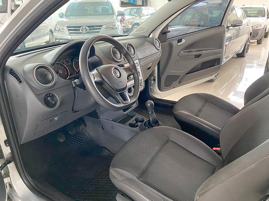 Camioneta Volkswagen Nova Saveiro 2017-8 na Beretta Automóveis em Criciúma
