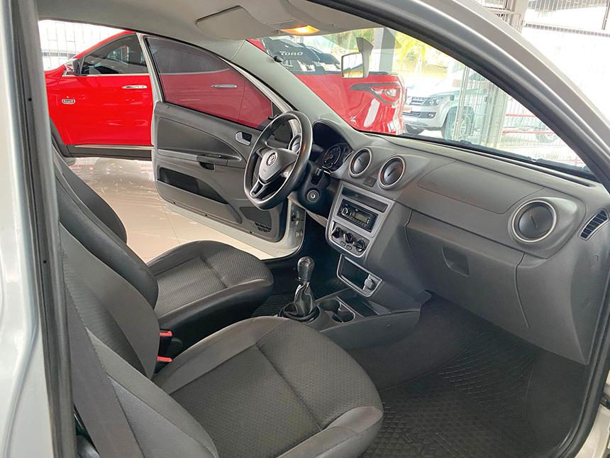 Camioneta Volkswagen Nova Saveiro 2017-9 na Beretta Automóveis em Criciúma