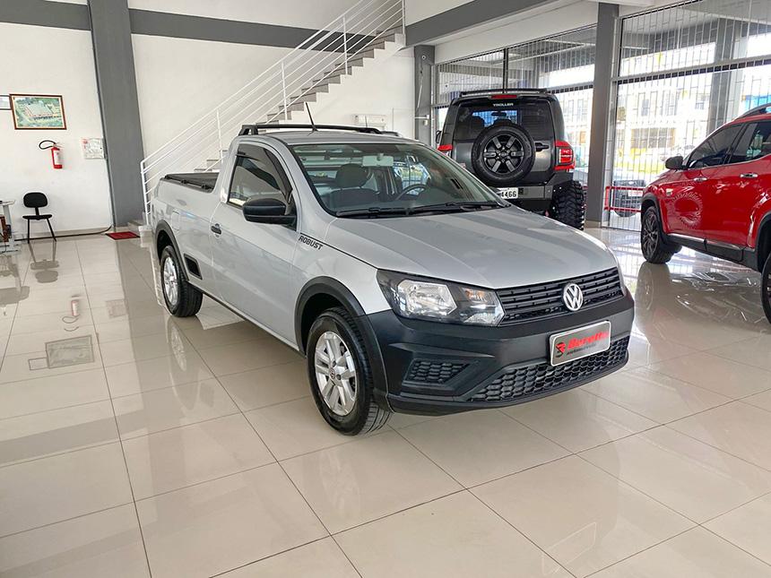 Camioneta Volkswagen Nova Saveiro 2017 em Criciúma | Beretta automóveis